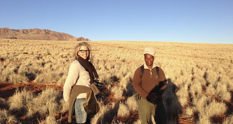 Heike Kolles Namibia
