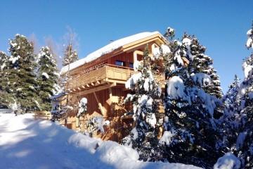 Aussenansicht_Winter__Alpenpark_Turracher_Hoehe_