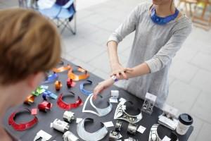 Wamp design fair at MuseumsQuartier.