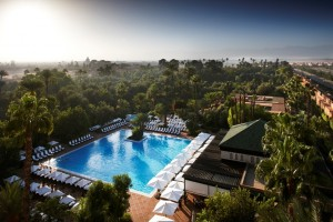 © La Mamounia_from above