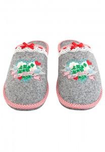 11153255590 100 Pantoffel grau_Lola