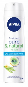 NIVEA Deo_pure&natural_Spray_150ml
