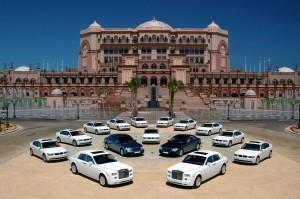 Emirates Palace Fuhrpark (c) Emirates Palace