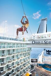 Oasis of the Sea _Skyride_(c)_Royal Caribbean Cruise Line