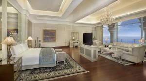 Waldorf Astoria Dubai May 2014 Royal Suite Master Bedroom (2)