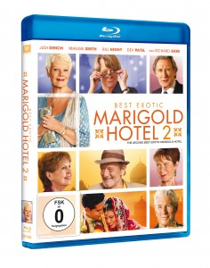 Best Exotic Marigold Hotel 2_Blu-ray