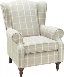18770284-01-F02 Sessel, Stoffbezug, Füße Echtholz, 399,-