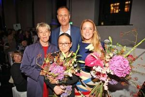 Austrian Fashion Awards 2015_Gudrun Schreiber, Andreas Mailath-Pokorny, Jackie Lee, Marina Hoermanseder