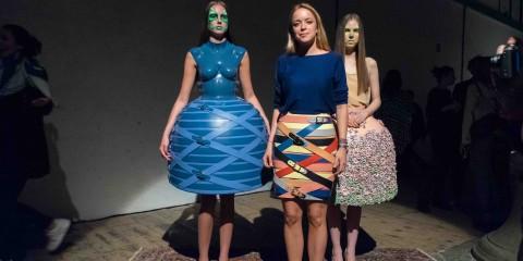 Austrian Fashion Awards 2015_Marina Hoermanseder mit Models┬®_Maximilian_Pramatarov