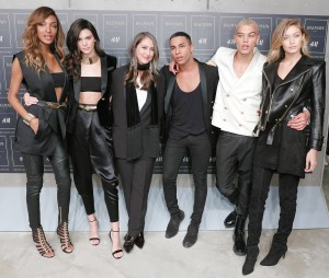 BALMAIN X H&M Launch