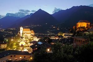 Sudtirol, Schenna, Nacht, Sommer,