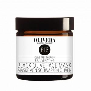 Black Olive Face Mask von OLIVEDA 60ml