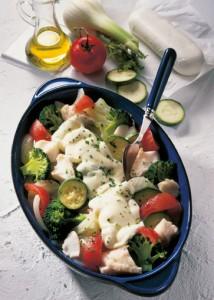 Gemüse-Fisch-Auflauf