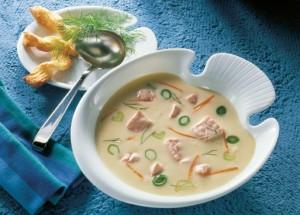 Gourmet Fischsuppe m Lachs