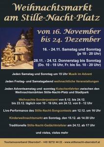 Plakat-Stille-Nacht-Weihnachtsmarkt-Oberndorf-2013