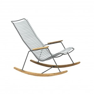 Click rocking chair grey