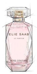 ELIE SAAB Rose Couture_SKETCH