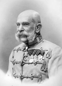 Emperor Franz Josef of Austria, in uniform, undated. Credit: Library of Congress