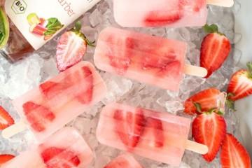 SodaStream_Wassereis_Bio-Sirup Rhabarber mit Erdbeere_kl50