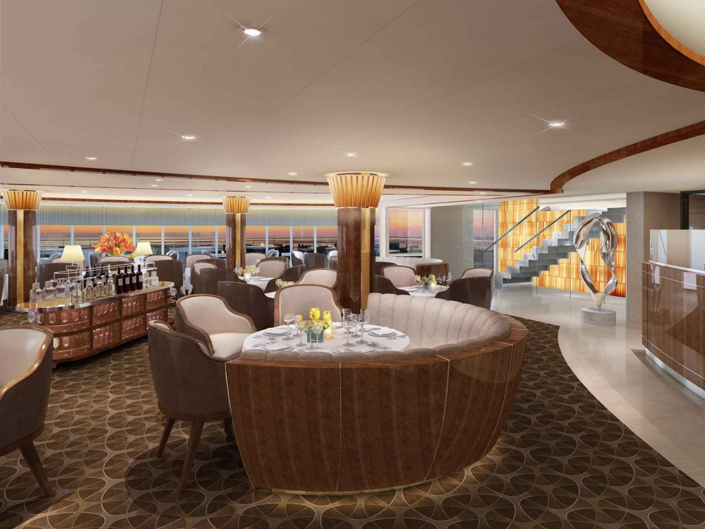 The Grill by Thomas Keller© Seabourn