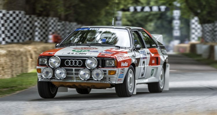 Audi Tradition beim Goodwood Festival Of Speed 2013