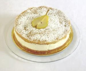 Birnen-Ricotta-Torte