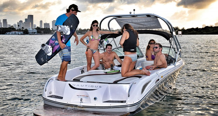 Miami South Beach- 2-stu¦êndiger Wakeboardingkurs1