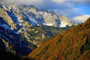 Sengsengebirge im Nationalpark Kalkalpen