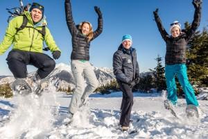 Schneeschuhwanderung Rax