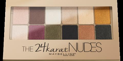 The 24Karat Nudes Lidschatten von Maybelline New York
