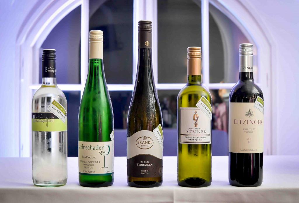 Weinchampions 2017 Flaschen