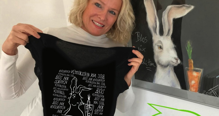 Foto für T-shirt Kopie mit Sprechblase Kopie