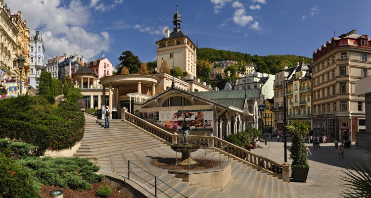 Karlovy Vary, autor Ladislav Renner