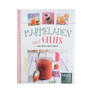 DEPOT_Buch Marmeladen & Gelees_EUR 4,99