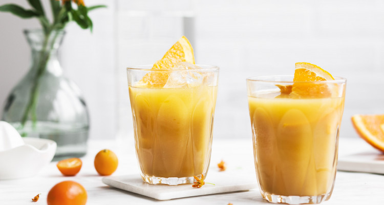 Black Tea Orangen Juice 7