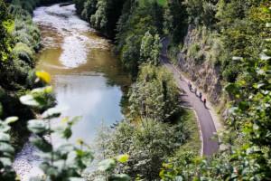 Atemberaubende Naturschauspiele am Ybbstalradweg (c) Mostviertel Tourism...