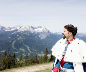 Der Kini am Berg_Zugspitz Region, Matthias Fend