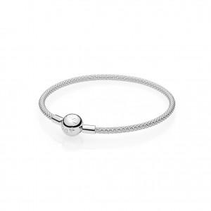 PANDORA_Sterling-Silber_Mesh-Armband_55 Euro_596543