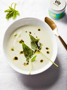 Kohlrabi Kokos Matcha Suppe 2