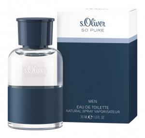 s.Oliver_So Pure_Men_EDT_30ml_Box+Flacon