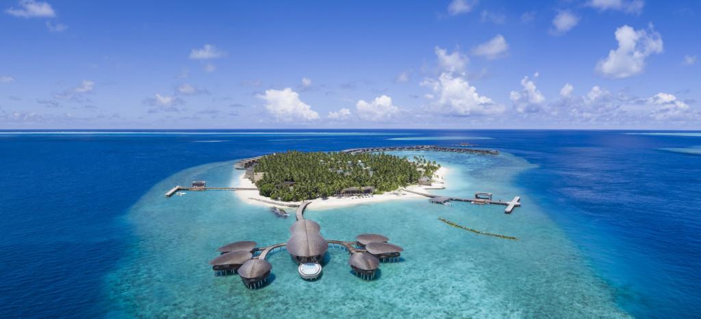 Aerial Vommuli Island
