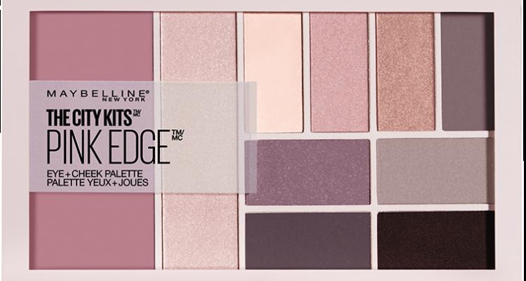City Kits von Maybelline New York - Pink Edge Palette