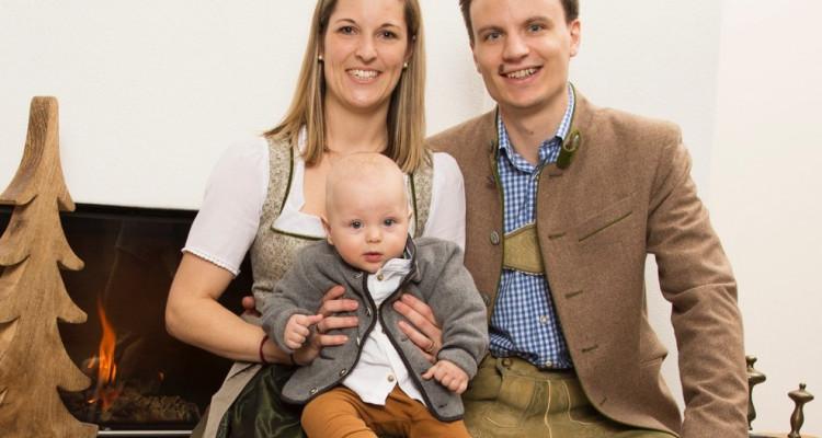 Nina, Peter und Baby Jonas Pichler @ Ben Leitner