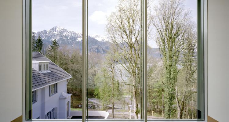 Der Aussichtsraum schafft die perfekte Symbiose von Kunst und Natur_c_Roger Frei