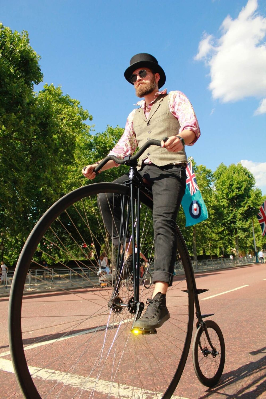 Hochradfahren
