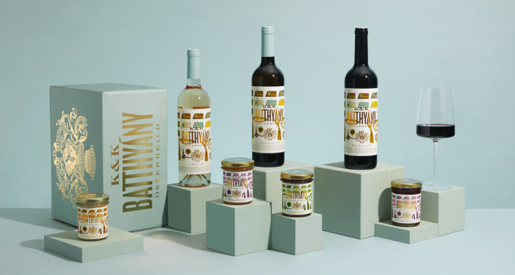 Produkte des Weinguts Batthyány