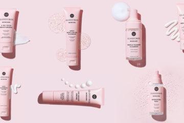 Produkte der neuen Glossybox Skincare Pflegelinie